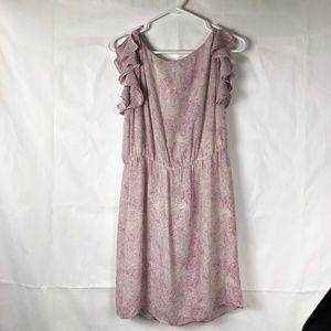 Ann Taylor Loft Women's Polka Dot Dress Ruffle 56P